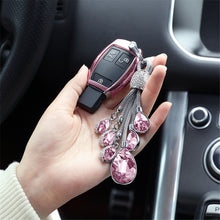 Load image into Gallery viewer, Beautiful Crystal Car Key-Chain for Girls - esstey