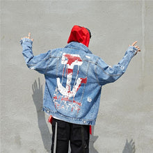 Load image into Gallery viewer, 'Anchor' Denim Jacket - esstey
