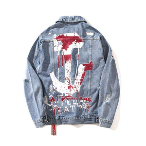 'Anchor' Denim Jacket - esstey