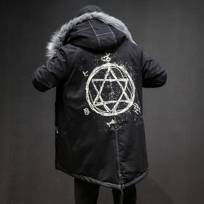 'Star' Winter Parka Jacket - esstey