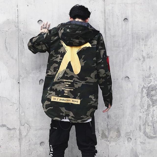 'Boosted X' Camo Jacket - esstey