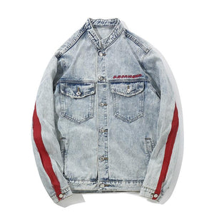 'DRAGON' DENIM JACKETS - esstey
