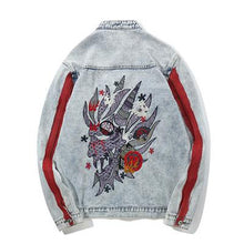 Load image into Gallery viewer, 'DRAGON' DENIM JACKETS - esstey