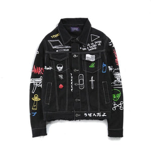 'Personality' Denim Jacket - esstey
