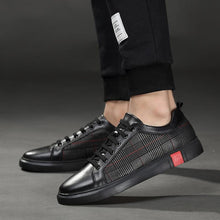 Load image into Gallery viewer, 'Black Checkered' Deluxe Sneakers - esstey