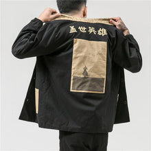 Load image into Gallery viewer, 'Samurai' Kimono Jacket - esstey
