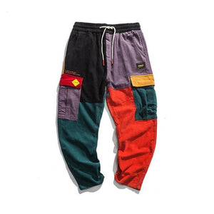 'Retro Patchwork' Pants - esstey