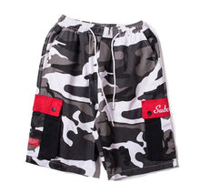Load image into Gallery viewer, 'Camo' Side Pocket Shorts - esstey