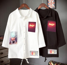 Load image into Gallery viewer, 'Sleeved-Patchwork' Polo Shirts - esstey