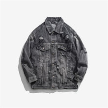 Load image into Gallery viewer, 'Galaxy' Denim Jacket Black / XL