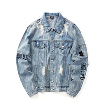 Load image into Gallery viewer, 'Ripped' Denim Jackets - esstey