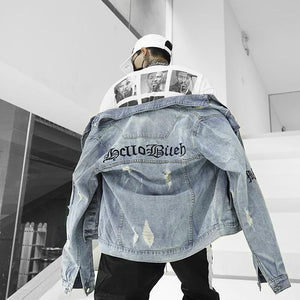'Ripped' Denim Jackets - esstey