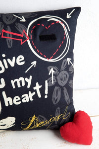 Give Heart Cushion/Pillow - esstey