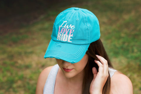 Live, Love, Ride Ball Cap