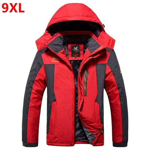 Waterproof Fleece thickening coat