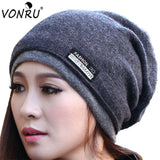 Fashion Beanie with Scarf