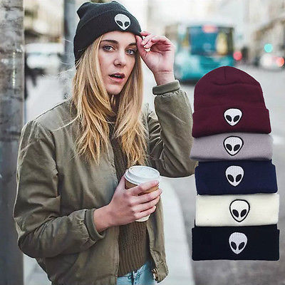 New Beanies with SKULL Embroidery - Unisex