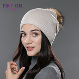Beanies hat unisex knitted wool Skullies