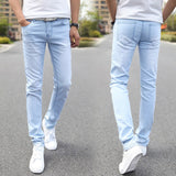 Light Blue Straight Jeans