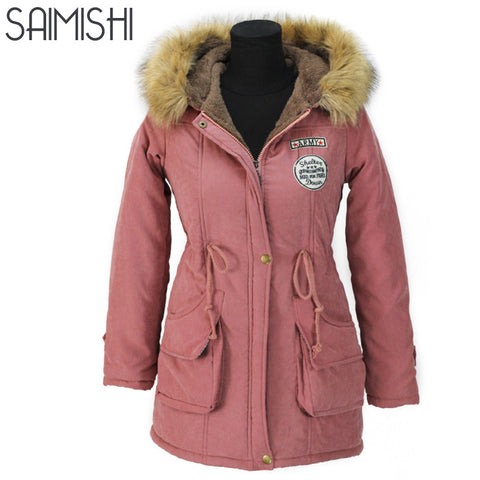 SAIMISHI Parkas Coats Collection