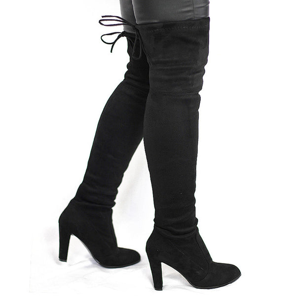 New Sexy Overknee Woman Shoes