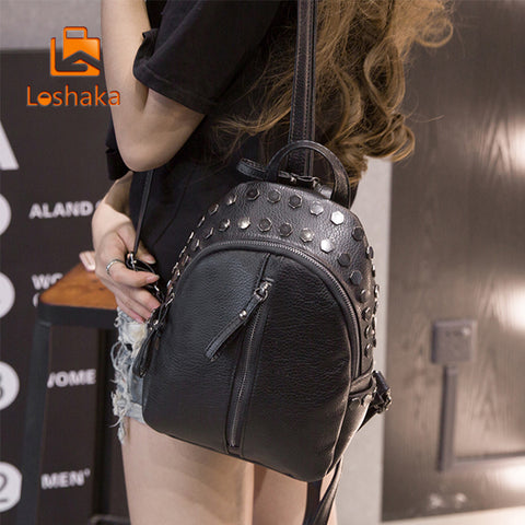 Loshaka Small Women Backpacks