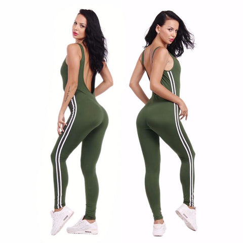 ZAFUL New U-neck Backless Workout Clothes