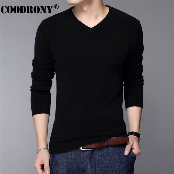 COODRONY Casual Slim Fit Sweaters