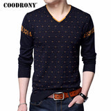 COODRONY V-Neck Sweaters