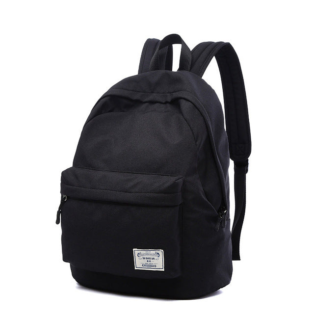 TUGUAN Canvas Backpack – Mall Of Star 7d4b59e0c0caf