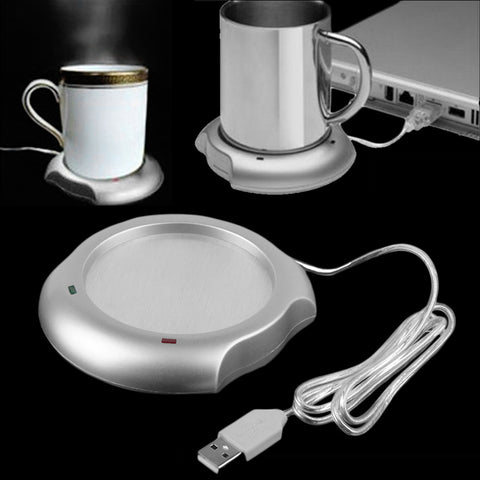 USB Insulation Coffee Cup/Mug Coaster Heater
