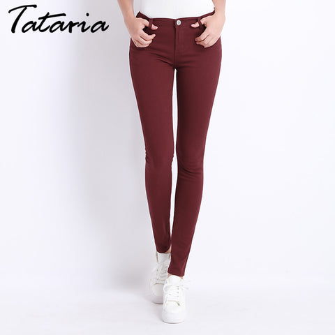 Tataria Candy Color Jeans