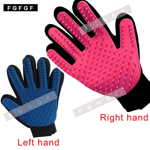 New Hair Brush Gloves For Pet