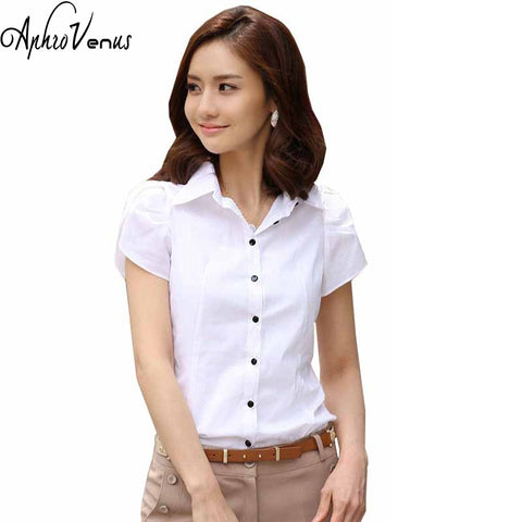 AphroVenus High Quality Short-Sleeve Blouses