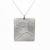 Sterling silver Alaska necklace
