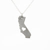 Sterling silver California necklace