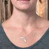 Sterling silver Florida necklace