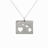 Sterling silver Hawaii necklace
