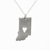 Sterling silver Indiana necklace