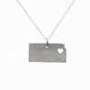 Sterling silver Kansas necklace