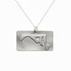 Sterling silver Maryland necklace