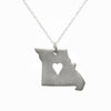 Sterling silver Missouri necklace