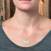 Sterling silver Montana necklace