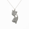 Sterling silver New Jersey necklace