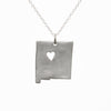 Sterling silver New Mexico necklace