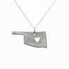 Sterling silver Oklahoma necklace