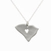 Sterling silver South Carolina necklace