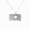 Sterling silver South Dakota necklace