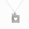 Sterling silver Utah necklace