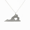 Sterling silver Virginia necklace